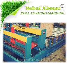 hebei xinnuo high quality steel roof tile roll forming machine